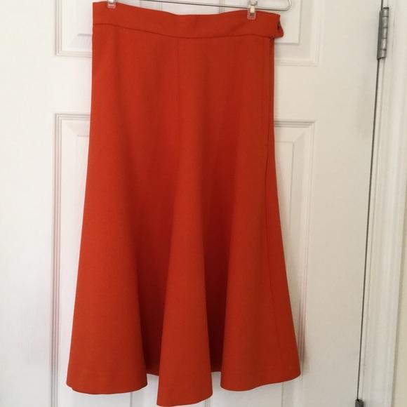 H&M Dresses & Skirts - Orange high waisted skirt
